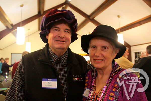 Bob and Barbara Lynyak  from Chatham. SEEN ON SCENE:  Mardi Gras Party  The Chatham Harwich Newcomers Club defied the weather on Sunday, February 10,  and held a Mardi Gras Party at The Christ Episcopal Church in Harwich Port.  Great fun  was had by all as they shared their recent experiences with super storm Nemo.  Chatham  Harwich Newcomers established in 1978, has been a haven for folks in the two towns  to expand their network of social friends and gather more than 20 individual activities.   The Club currently has 450 members and lives by the motto:  We Volunteer - We Contribute  - We Have Fun.  See us on the web at  Chatham-Harwich Newcomers Club   5 / 13   WickedLocal.com/CapeCod February 13, 2013 COMMUNITY NEWSPAPER COMPANY