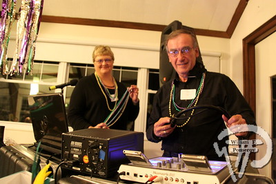 DJs  Eileen and Jack Wyatt. SEEN ON SCENE:  Mardi Gras Party  The Chatham Harwich Newcomers Club defied the weather on Sunday, February 10,  and held a Mardi Gras Party at The Christ Episcopal Church in Harwich Port.  Great fun  was had by all as they shared their recent experiences with super storm Nemo.  Chatham  Harwich Newcomers established in 1978, has been a haven for folks in the two towns  to expand their network of social friends and gather more than 20 individual activities.   The Club currently has 450 members and lives by the motto:  We Volunteer - We Contribute  - We Have Fun.  See us on the web at  Chatham-Harwich Newcomers Club   1 / 13   WickedLocal.com/CapeCod February 13, 2013 COMMUNITY NEWSPAPER COMPANY