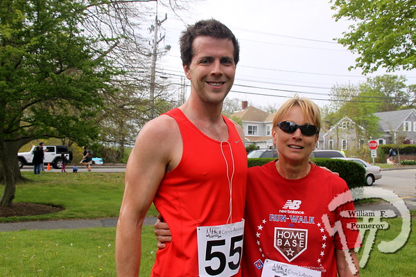 Cape Abilities 5K Walk/Run top racers  Jason Clemence plus Kayleen Rosato. SEEN ON SCENE:  Cape Abilities 5K  Despite an early slight rain, more than 500 runners and walkers  came out Saturday morning to take part in a 5K Walk/Run in downtown  Hyannis. Exceeding their goal in raising over $50,000 for Cape Abilities,  a program which has been supporting people with disabilities across  Cape Cod for over the past 40 years.  8 / 17   WickedLocal.com/CapeCod May 13, 2013 COMMUNITY NEWSPAPER COMPANY