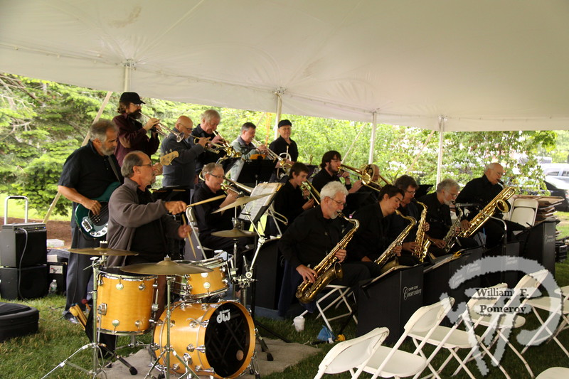Cape Cod Conservatory Jazz Ensemble is directed by Ty Newcomb.