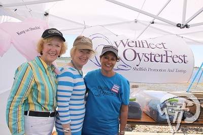 Nancy Noonan, Jan LaTanzi plus Kathy Gordon  of SPAT (Shellfish Promotion And Tasting, inc.). SEEN ON SCENE:  Wellfleet  HarborFest  Wellfleet HarborFest and Nautical Flea Market kicked-off  another summer season upon the Eastern end to the town pier  on Saturday. Along with multiple live entertainers, vendors,  local foods, auctions and items frequently raffled, the third  annual festival showcased a waterfront community under  the ever shining sun.  3 / 20   WickedLocal.com/CapeCod June 3, 2013 COMMUNITY NEWSPAPER COMPANY