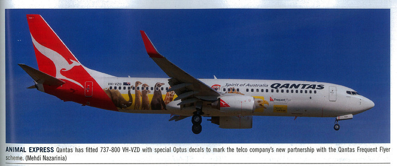 VH-VZD published in Australian Aviation Magazine, October 2011, No. 287