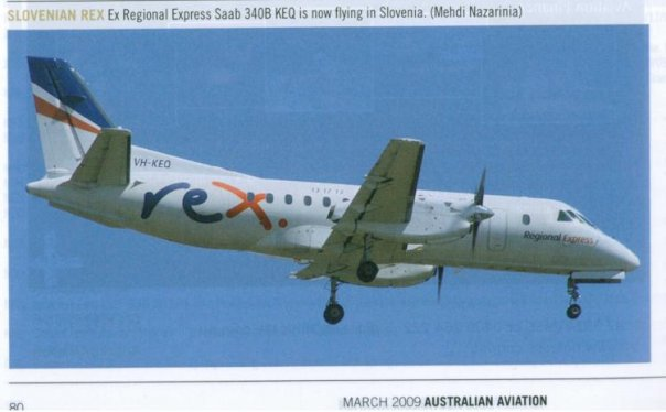 VH-KEQ published in Australian Aviation Magazine, March 2009, No. 258
