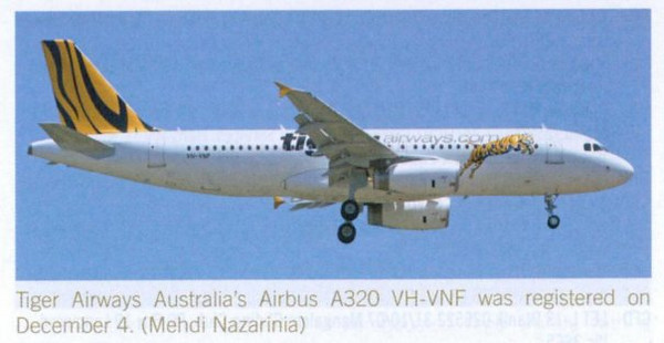 VH-VNF published in Australian Aviation Magazine, March 2008, No. 247