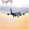Qatar Amiri Flight Safety Magazine front page, February 2013.