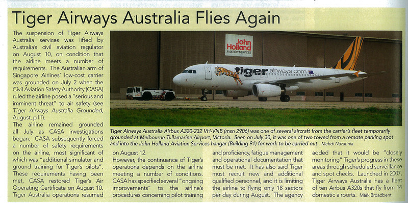 Published in Air International Magazine September 2011 Issue