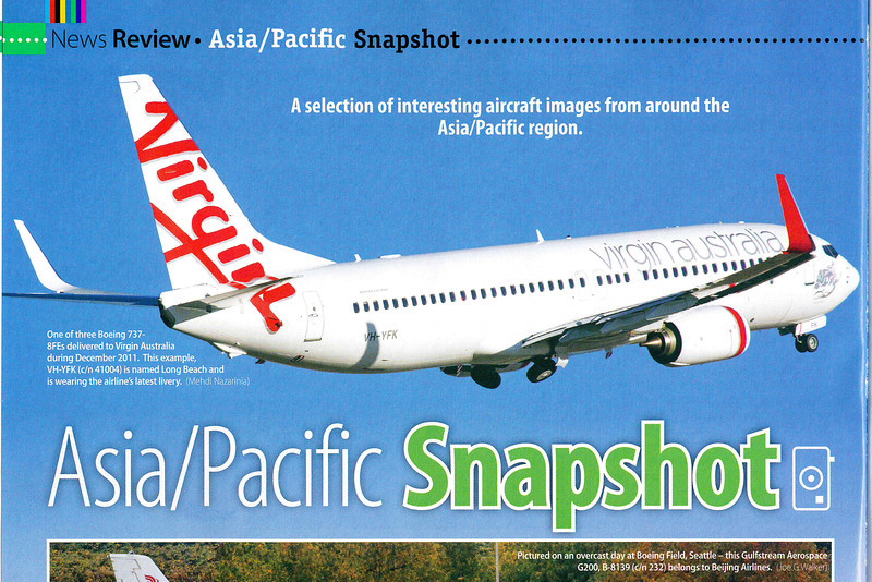 Published in Airliner World, March 2012, page 20.
