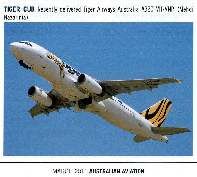 Published in Australian Aviation Magazine, March 2011, No. 280, page 93.