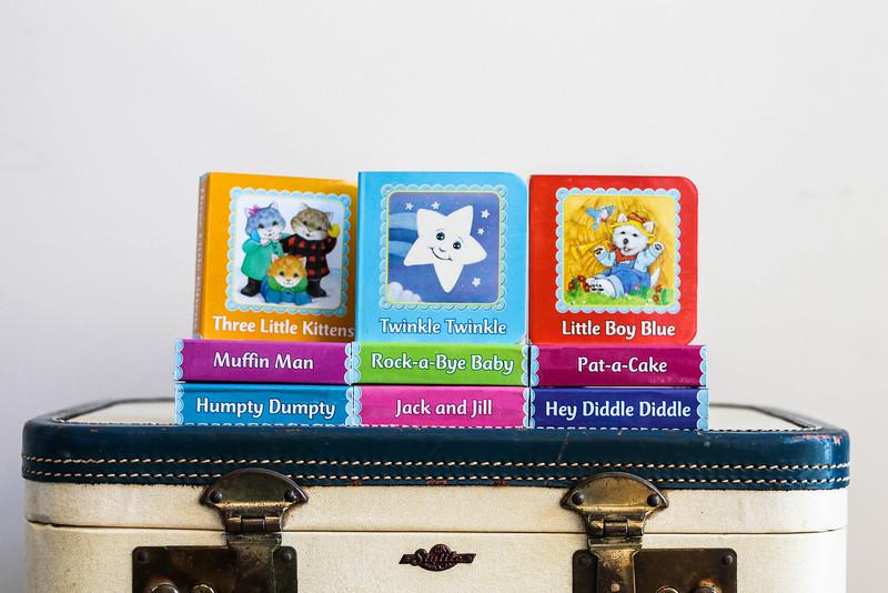 small nursery rhyme board books