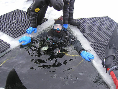 Ice Diving in Canada