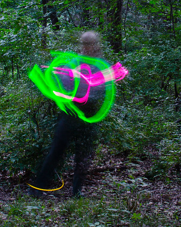 Dancing with a firefly, 2