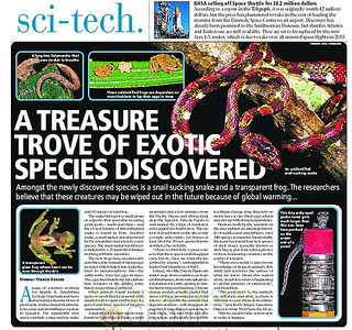 Biodiversity Group, Mumbai Mirror