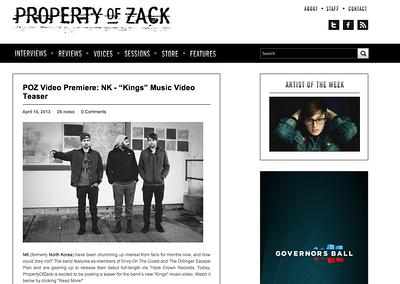 Property of Zack