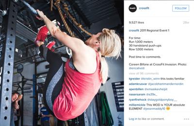 Crossfit Instagram
