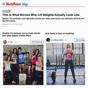 Buzzfeed.com x Doughnuts and Deadlifts