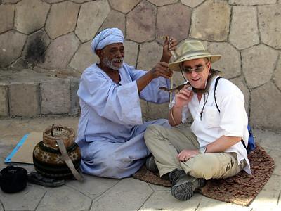 Snake Charmer in Egypt