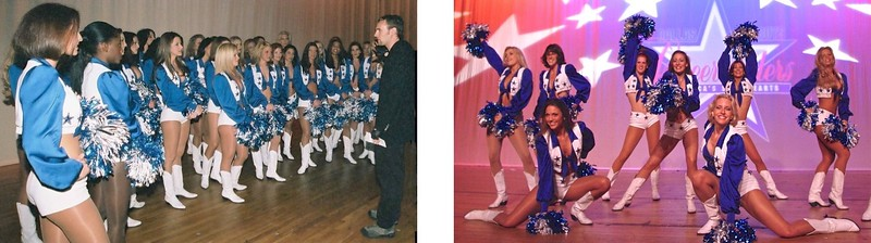 Dallas Cowboys' Cheerleaders' Stage Manager