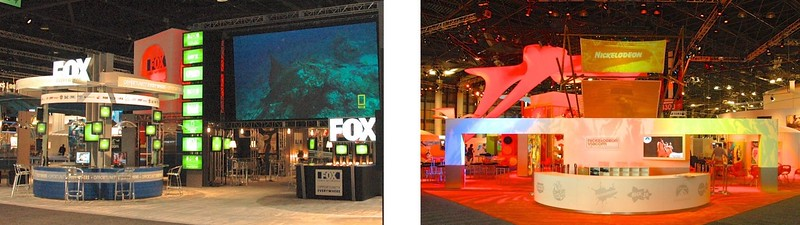 National Cable Television Association Trade Show: Fox News and Nickelodeon booths, Las Vegas, NV and New York, NY.