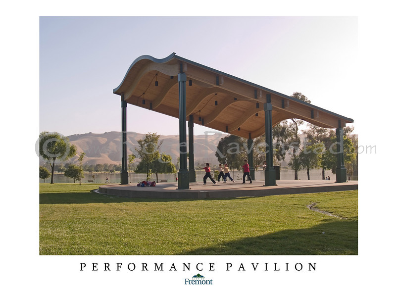 The Fremont Performance Pavilion was completed in 2006 and is located in the 400 acre Central Park in Fremont, California.