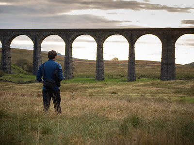 Shooting at the Ribblehead Viaduct