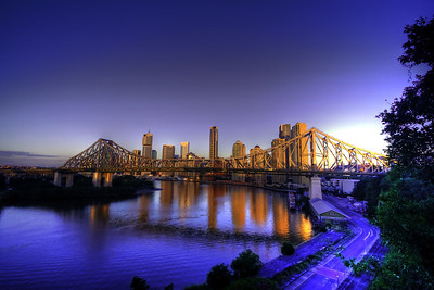 Story Bridge, Brisbane, QLD by Andrew Carpenter