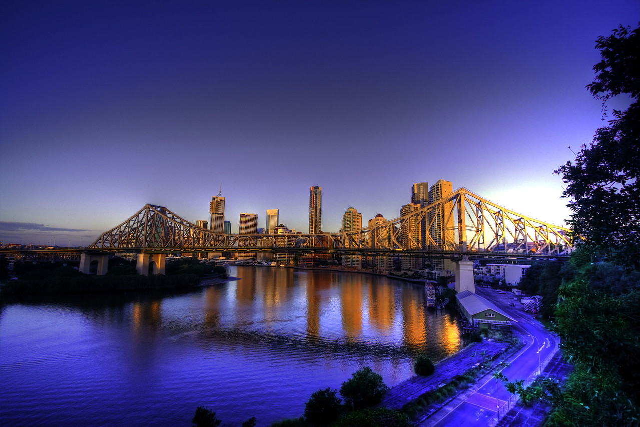 Story Bridge, Brisbane, QLD by Andrew Carpenter