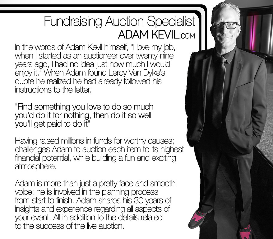 Adam Kevil Fundraising Auction Specialist