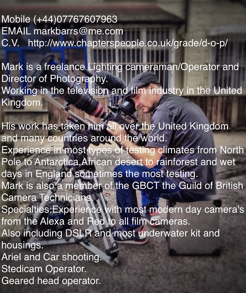 Mark Barrs Bio