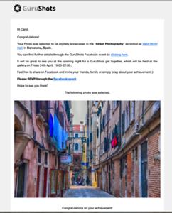 Street Photography Barcelona Spain Exhibition