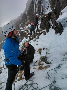 Winter Mountaineering with the University of Cumbria