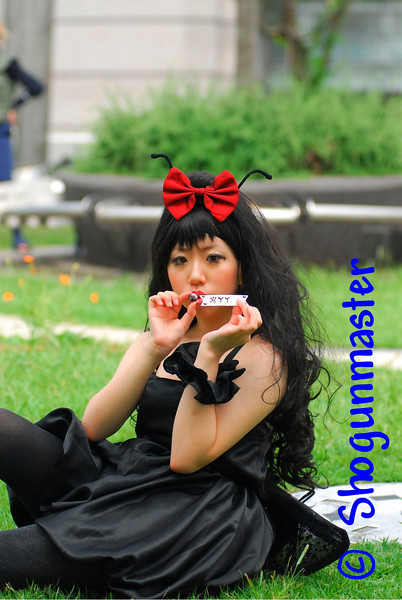 A local girl enjoying herself at the World Cosplay Summit - August 1st, 2010