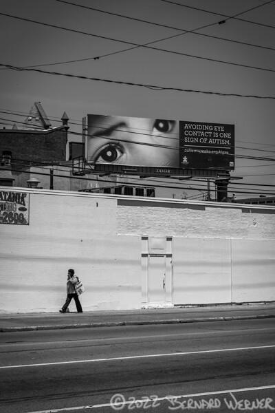Avoiding Eye Contact, Erie, PA, 2016
