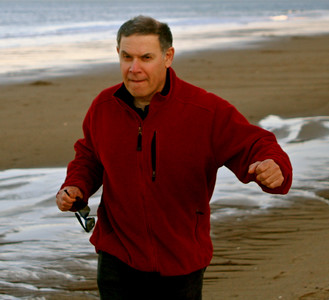 Running on Plum Island 2010.