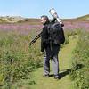 Me in Skomer Island, wales