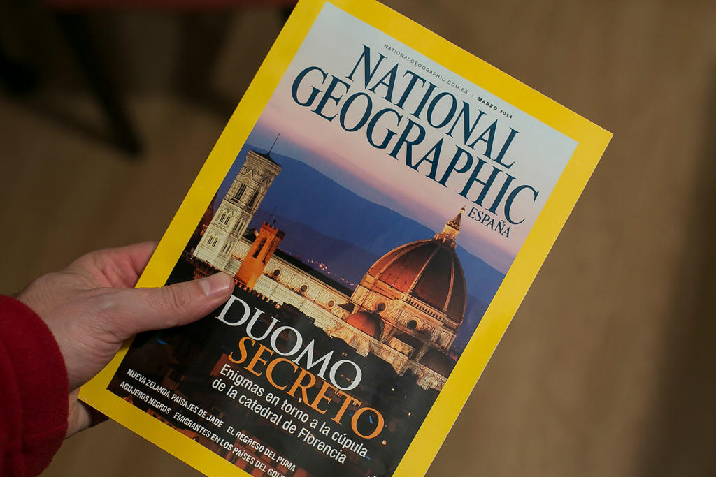 National Geographic Spain March 2014 published