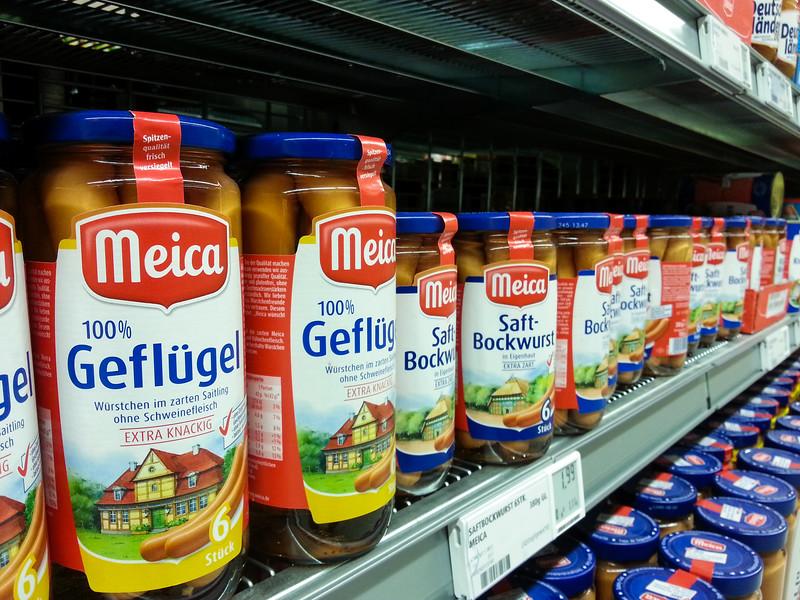 100% Poultry, Juice-Bockwurst