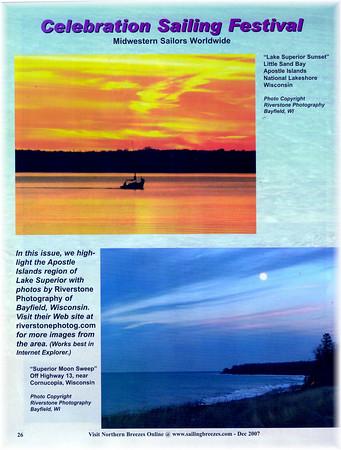Apostle Islands Area Feature