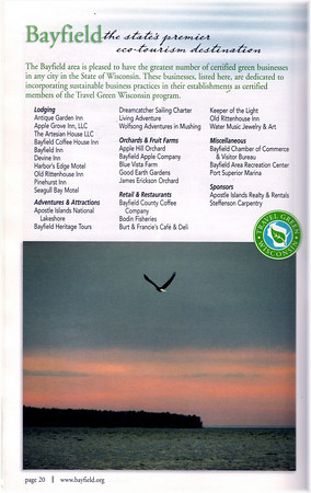 Bayfield Visitor Guide