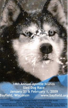 Apostle Islands Sled Dog Races