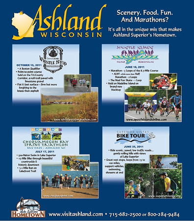 Ashland WI Event Advertise Poster-SVBT Images by Riverstone