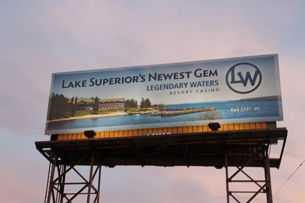 Hit the Highway....On a Billboard Near You! ( We've seen two so far on I-35 Northbound & The Bridge coming over Superior from MN to WI :)