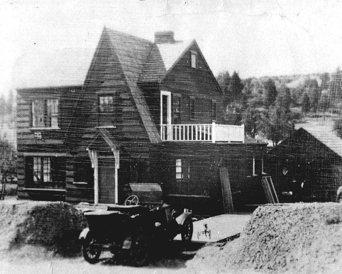Undated photo from circa 1930.  This style was called Yankee Colonial.