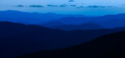 Smokey Mountains National Park blue