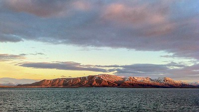 View from Reykjavik harbour