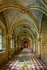Roman-gothic Cloister at Thurn und Taxis Palace, Regensburg