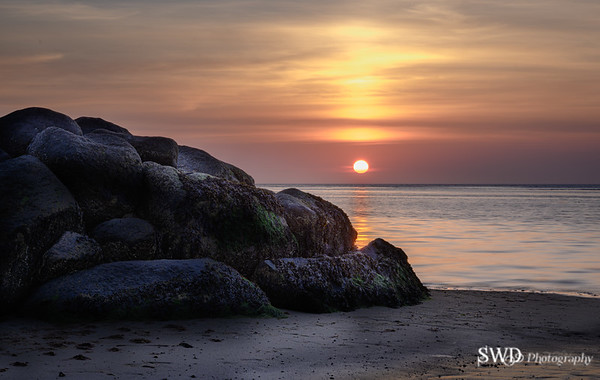 Point of Rocks at Sunset