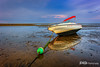 Beached Whaler - Low Tide Breakwater Beach - 2