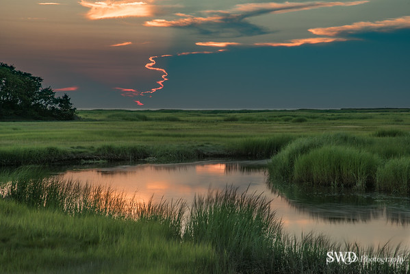"""""""Hidden"""" Sunset at Boat Meadow"""