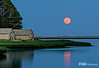 Full Moon Rising, Salt Pond Bay, Cape Cod