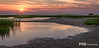 Sunset at Rock Harbor During Low Tide, Cape Cod